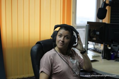 Alex Dulgheru on Air at Gold Morning, Radio Gold FM